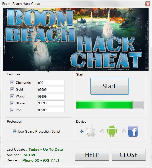 Boomb Beach Hack