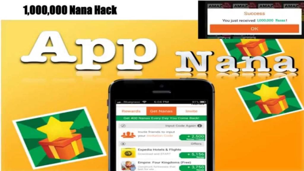App Nana Hack Tool Download No Survey