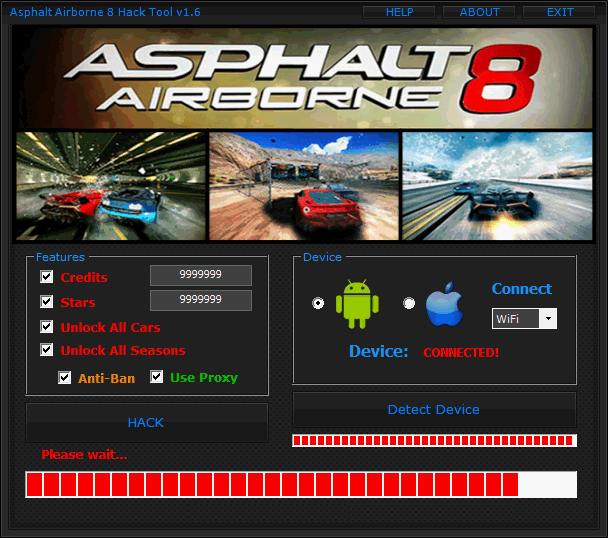 Asphalt-8-Airborne-Hack Tool Download No Survey