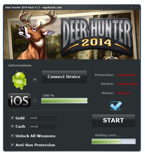 Deer Hunter Hack Tool No Survey1