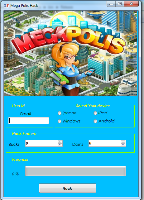 Megapolis Cheats HACK TOOL NO SURVEY1