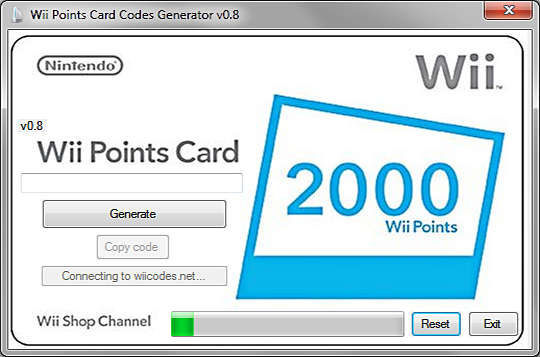 Wii points generator HACK TOOL NO SURVEY1