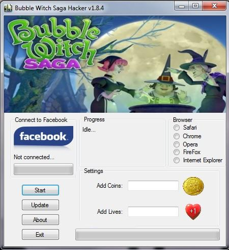 Bubble Witch Saga Hack1