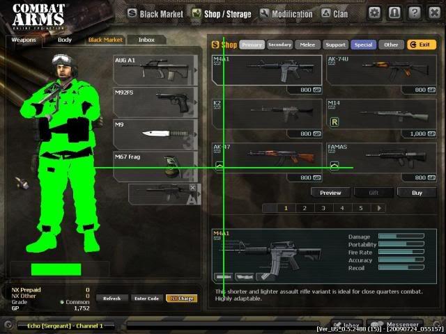 hack allzack combat arms