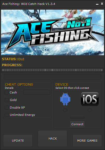 Ace Fishing Wild Catch Hack1