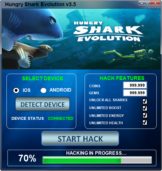 Hungry Shark Evolution Hack Tool Download No Survey1